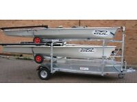 Used, Multiboat trailers (and single boat trailers) for sale  Glasgow