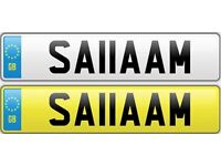 SALAM Islam Muslim Allah Cherished Registration Private UK Number Plate