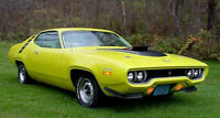 WANTED** 1971 1972 Plymouth B Body Roadrunner/Satellite parts