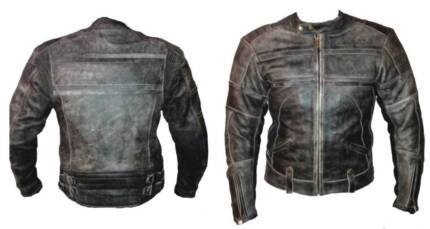 Near new Motorcycle leather jacket - classic style
