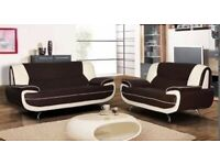 Brand New Palermo 3+2 Leather Sofa in Really Cheap Price