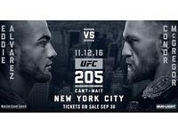 UFC 205 Conor McGregor v Alvarez Madison Square Garden New York