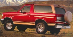 WANTED 1980-96 Ford Bronco (just need the back half)