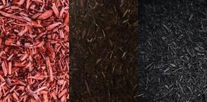 Paillis de cèdre - Rouge - Brun - Noir