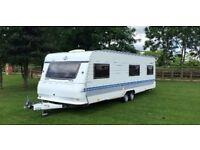 Caravan 5birth Hobby prestige twin axle