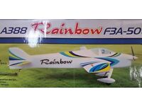 RC Plane - Rainbow F3A-50 - new in box
