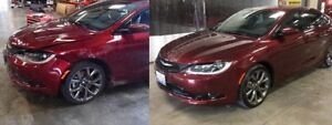 Budget auto body service and repairs prices from $20