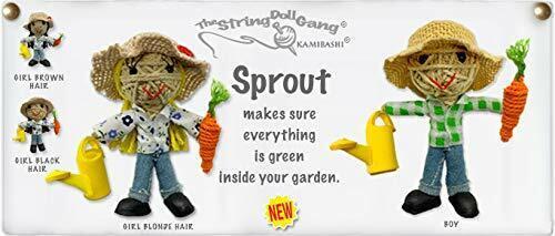Kamibashi Sprout The Gardener Boy Original String Doll Gang Keychain Clip