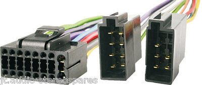 Jvc KD-R401/KD-R501/KD-R601 Etc 16 Pin Wiring Harness Connector Loom Lead ISO