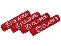 1 Abstandshalter für Bowdenzüge von Clarks in rot aus Gummi
