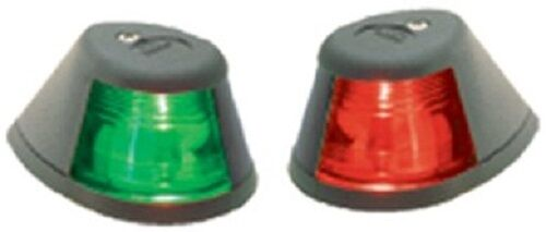 Perko Marine Horizontal Mount Sidelights - Green & Red Included - 253BDP1