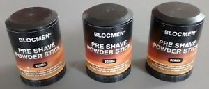 3-X-BLOCMEN-DERMA-PRE-SHAVE-POWDER-STICK-FOR-SENSITIVE-SKIN