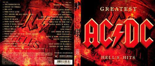 ac dc greatest hells hits cd