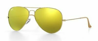 Ray Ban 3025 58 Aviator Polished Oro Brillante Remix Oro Espejo Lentes