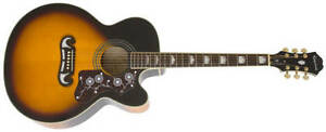 Epiphone ej-200 super jumbo acoustic/electric