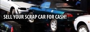 Scrap cars, any condition, make or model!