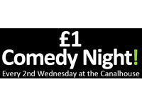 NCF £1 Comedy Night: New Act of the Year Final (Part of The Nottingham Comedy Festival)