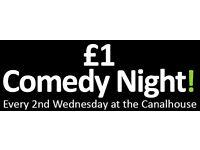 NCF Comedy's One Pound Comedy Night