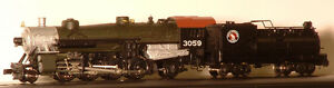 NEW DC Model Train, Model Power 2-8-2 Great Northern in N scale