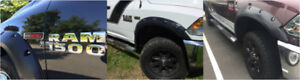Pocket style/OE Style Fender flare for Dodge/Ford/Chevy/Toyota