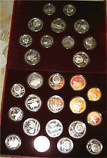 Moscow 1980 Olympic Silver Coin Set Kitchener / Waterloo Kitchener Area image 1
