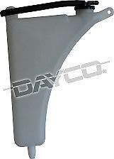 DAYCO COOLANT OVERFLOW TANK for TOYOTA HILUX GGN15R 05-ON V6 1GR-FE 4.0L 4X2