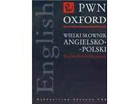 English-Polish Dictionary Oxford PWN