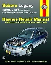 Subaru-Legacy-90-99-Haynes-OutBack-Repair-Manual-NEW-owners-GT