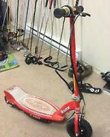 Youth's Razor E100 Electric Scooter $70.00