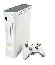 Xbox 360 white with controller