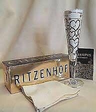 NEW Ritzenhoff Champus Champagne Glass Set x 2
