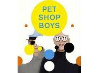 PET SHOP BOYS TICKETS FEB 22ND EDINBURGH PLAYHOUSE