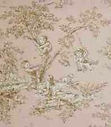 Brown Toile Fabric