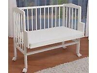Waldin Baby Bedside Cot