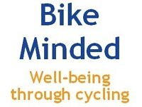 Bike Minded group rides - well-being through cycling