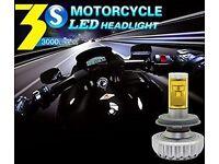LUMILUX 3S Super-Bright LED Motorcycle Headlight CREE-XM-L2 3000 Lumen