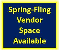 Vendor Tables Available for Spring Flings @ Evinrude