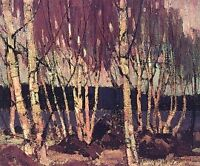 """Limited Edition """"Evening, Canoe Lake"""" by Tom Thomson"""