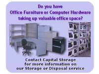 Capital Storage for all your storage requirements: Office Waste Disposal, Archive Storage & etc.