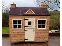 WOODEN GARDEN SHEDS SUMMER HOUSES STORAGE BOXES DOG KENNELS HEN ARKS RABBIT HUTCHES