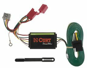 honda trailer wiring harness curt 56161 trailer hitch custom wiring harness t connector for honda odyssey