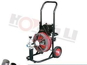 HOC D-330ZK 75 FOOT DRAIN CLEANER WITH AUTO FEED + FREE SHIPPING + 90 DAY WARRANTY