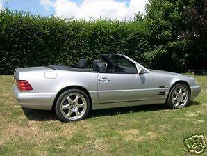 Mercedes R129  W129 R 129 W 129 Einbauanleitung Verdeck