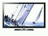 "Samsung 50"" Inch LCD Plasma TV PS50C550G1W"