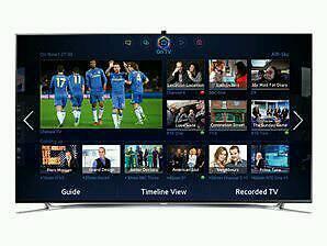 Used Samsung 40F8000 FULL HD, SMART 3D TV.