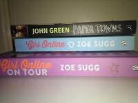 Book bundle, Zoe Sugg, John Green