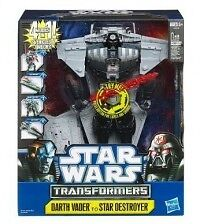 Star Wars Transformers Darth Vader/Anakin Republi Attack Cruiser/Star Destroyer
