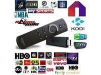 Jail broke voice activated Amazon Fire stick loaded all sports movies sky tv latest movies