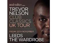 3 x Trevor Nelson Tickets