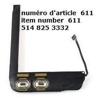 For iPad 2 2nd Gen Loudspeaker Sound Speaker Buzzer Flex Cable R